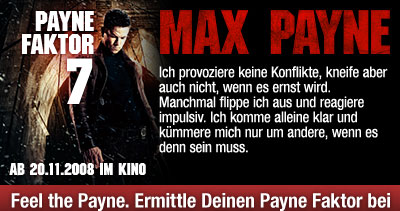 Zum Max Payne-Check bei der Film-Community moviepilot