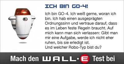 Zum Disney Wall-E Test auf moviepilot.de